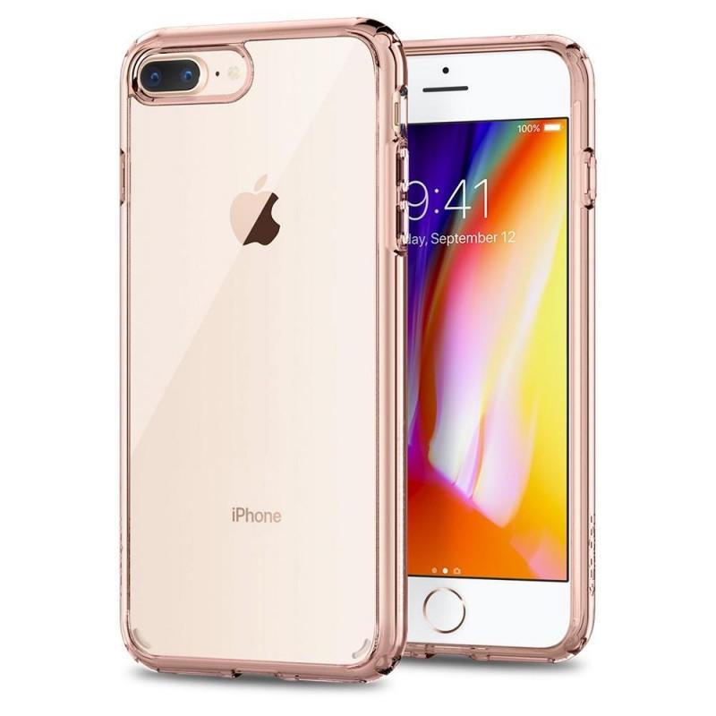 Spigen Ultra Hybrid 2 Case  iPhone 8 Plus/7 Plus Rose Crystal - 1