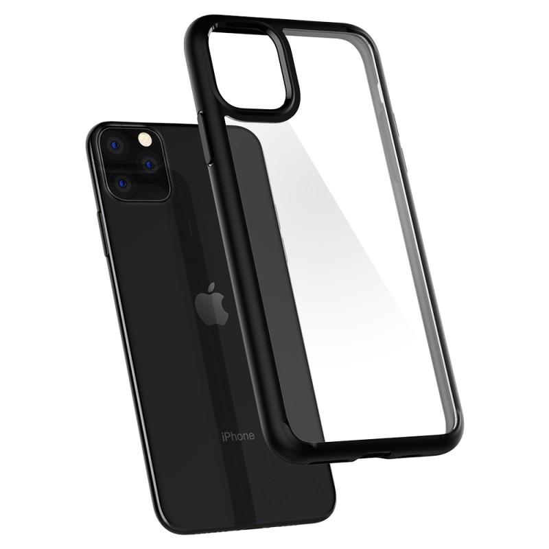 Spigen Ultra Hybrid iPhone 11 Pro Max Zwart - 5