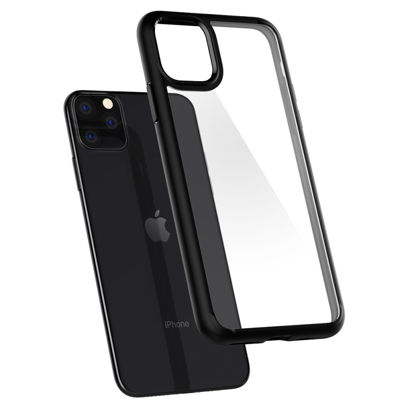 Spigen Ultra Hybrid Case iPhone 11 Pro Zwart - 5
