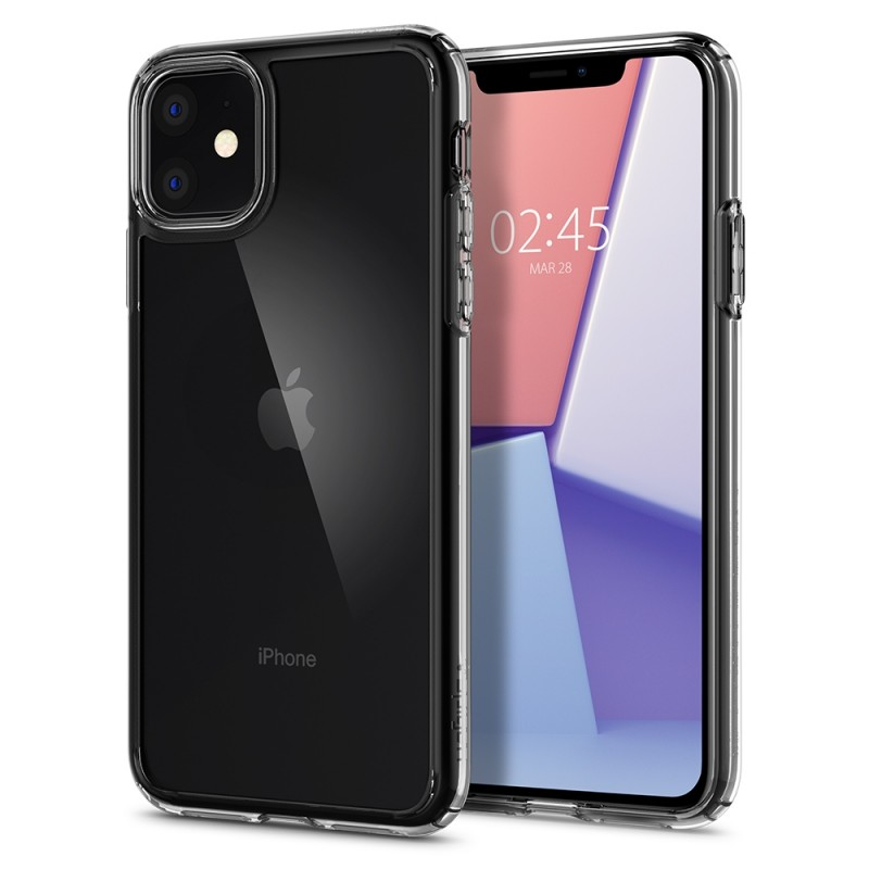 Spigen Ultra Hybrid Case iPhone 11 Transparant - 1