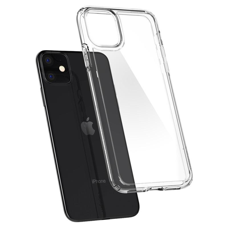 Spigen Ultra Hybrid Case iPhone 11 Transparant - 7