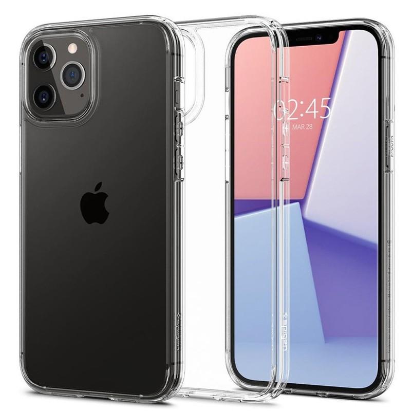 Spigen - Ultra Hybrid iPhone 12 / iPhone 12 Pro 6.1 inch transparant 09
