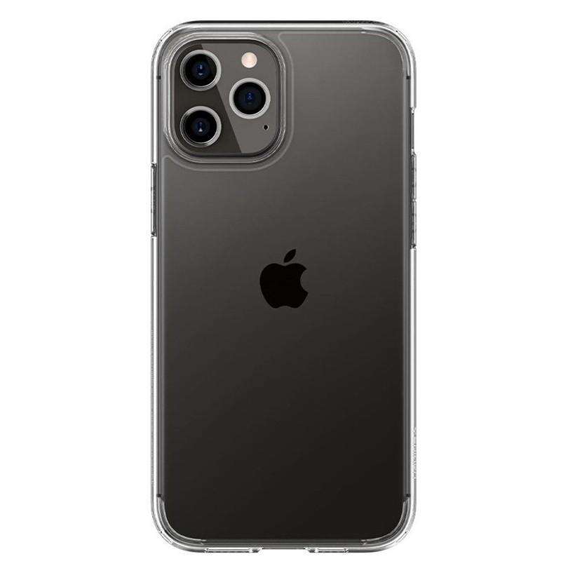 Spigen - Ultra Hybrid iPhone 12 / iPhone 12 Pro 6.1 inch transparant 02