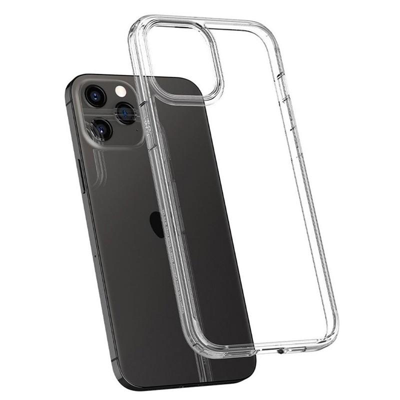 Spigen - Ultra Hybrid iPhone 12 / iPhone 12 Pro 6.1 inch transparant 06