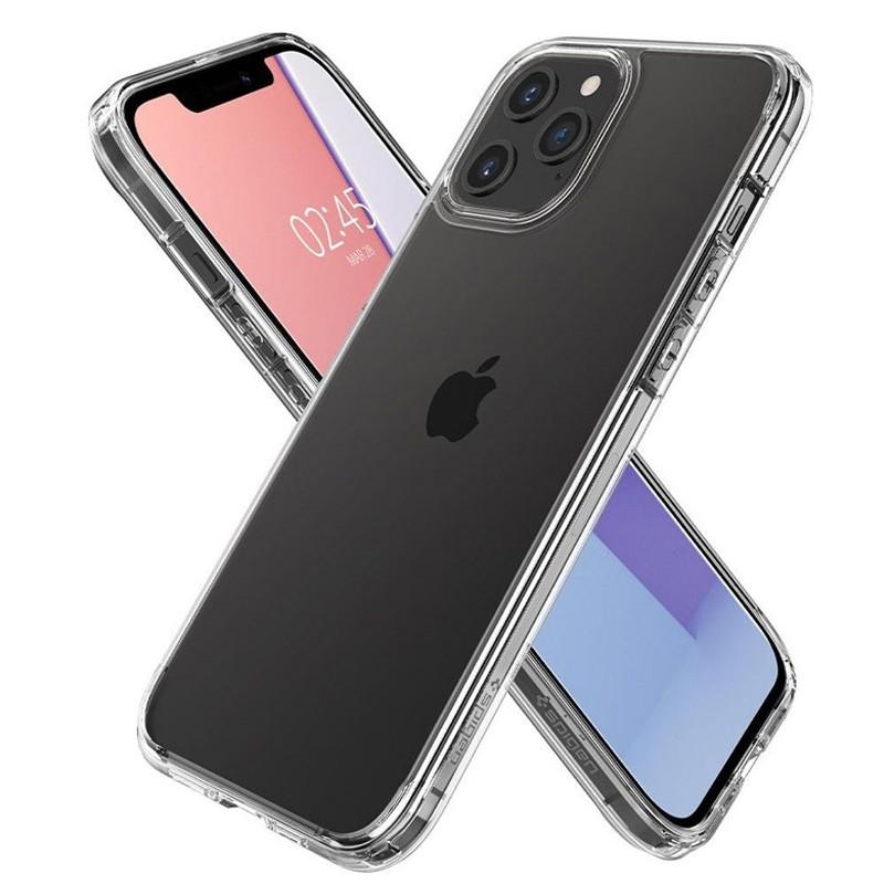 Spigen - Ultra Hybrid iPhone 12 / iPhone 12 Pro 6.1 inch transparant 03