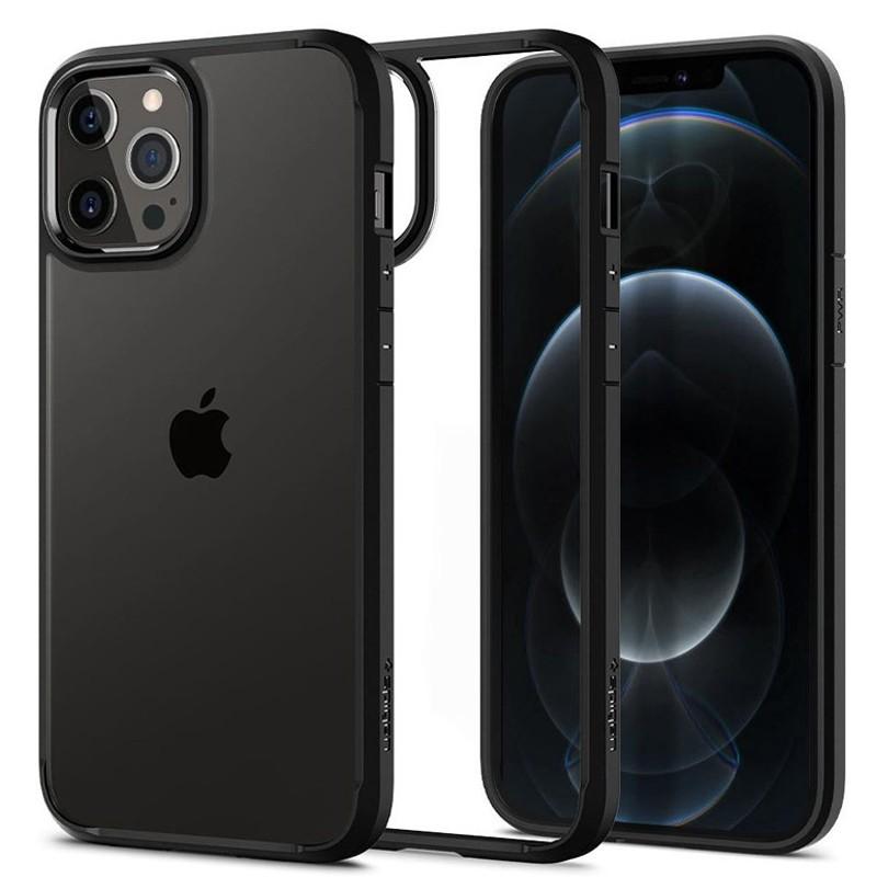 Spigen - Ultra Hybrid iPhone 12 / iPhone 12 Pro 6.1 inch zwart 06