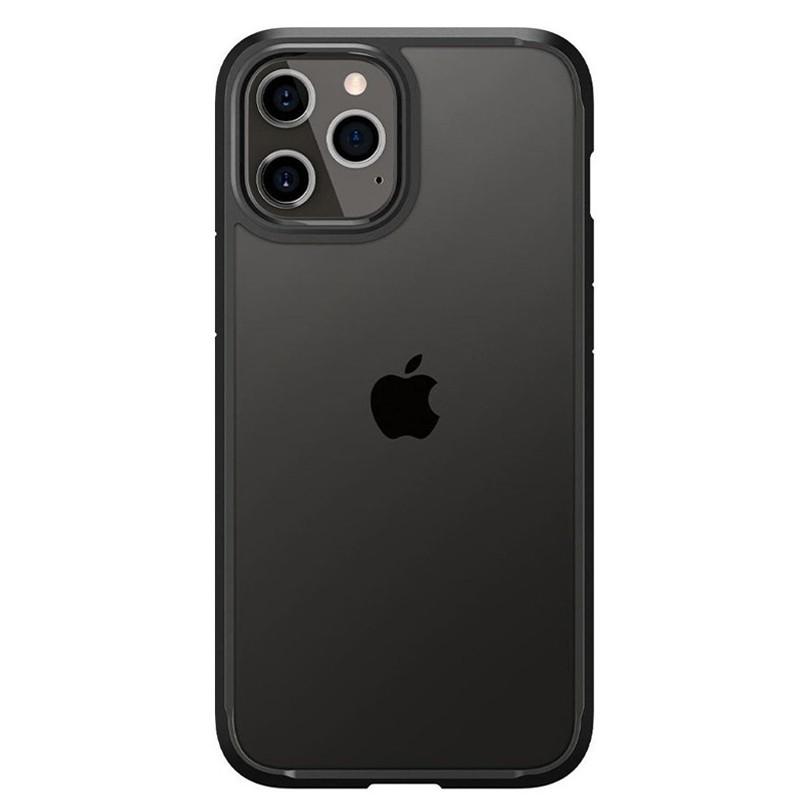 Spigen - Ultra Hybrid iPhone 12 / iPhone 12 Pro 6.1 inch zwart 02
