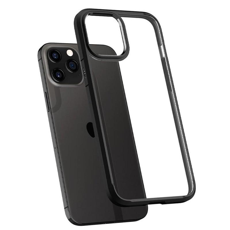 Spigen - Ultra Hybrid iPhone 12 / iPhone 12 Pro 6.1 inch zwart 04