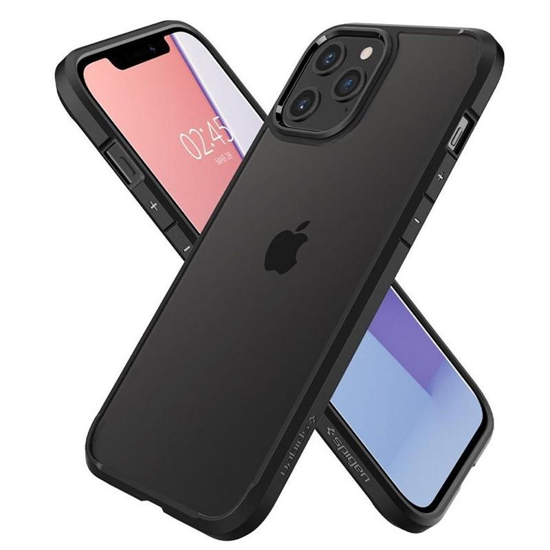 Spigen - Ultra Hybrid iPhone 12 / iPhone 12 Pro 6.1 inch zwart 03