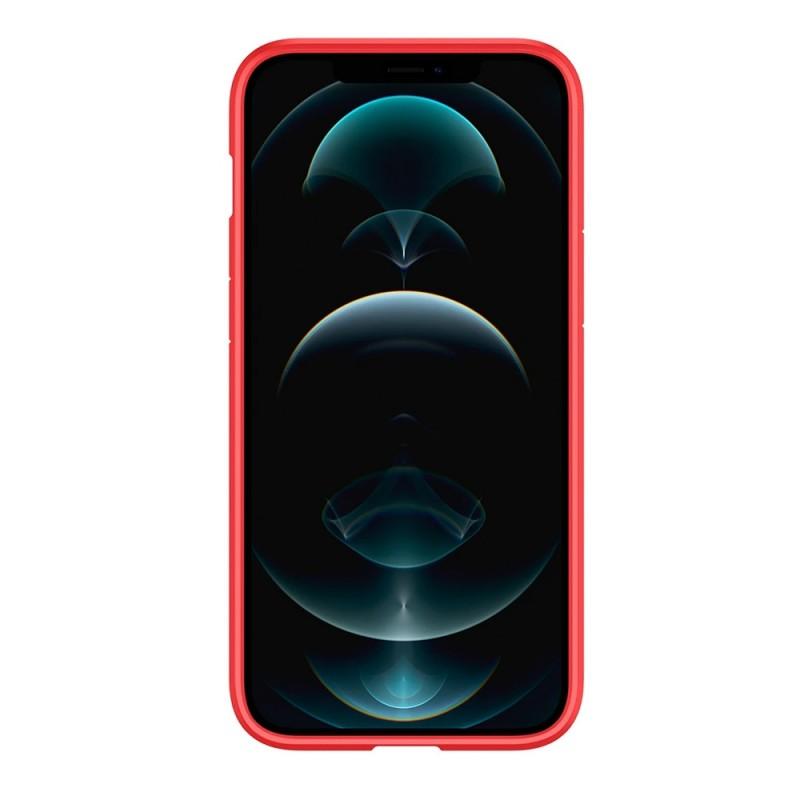 Spigen Ultra Hybrid Case iPhone 12 / 12 Pro Rood - 5