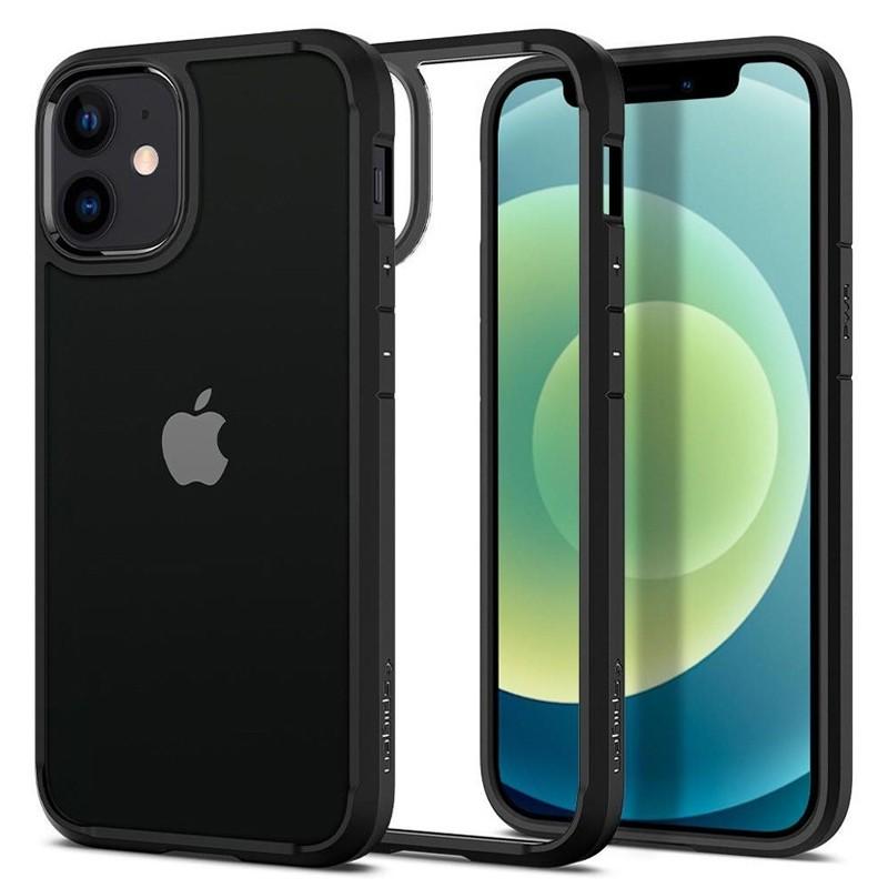 Spigen - Ultra Hybrid iPhone 12 Mini 5.4 inch zwart 04