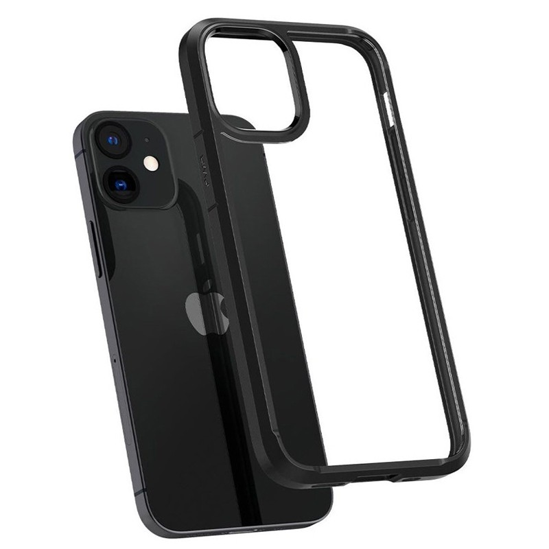 Spigen - Ultra Hybrid iPhone 12 Mini 5.4 inch zwart 05