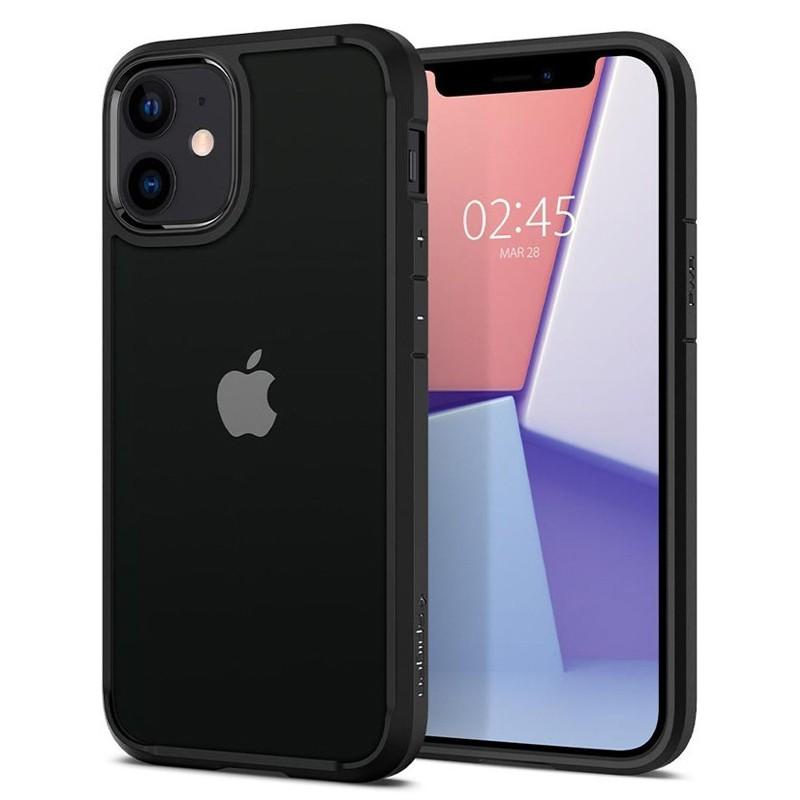 Spigen - Ultra Hybrid iPhone 12 Mini 5.4 inch zwart 01