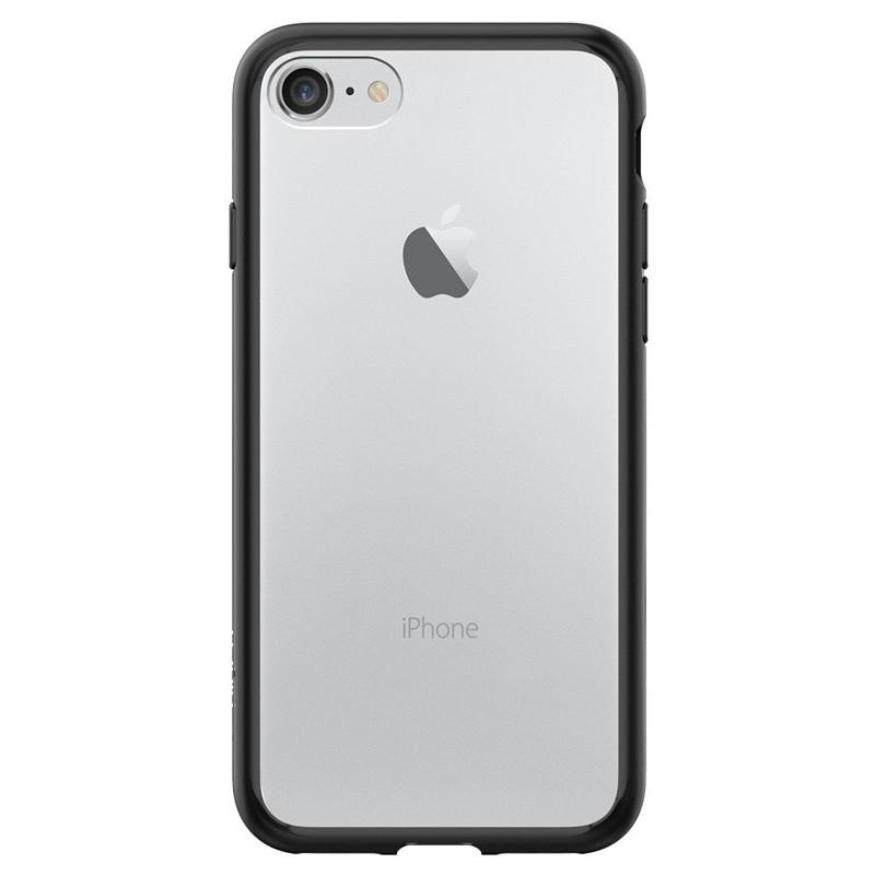 Spigen Ultra Hybrid iPhone 7 Black/Clear - 2