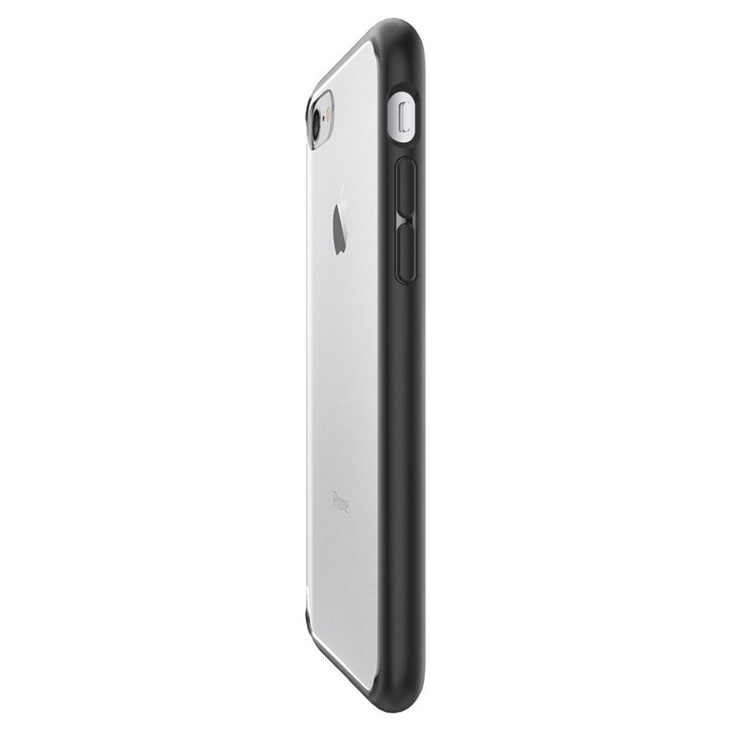Spigen Ultra Hybrid iPhone 7 Black/Clear - 4