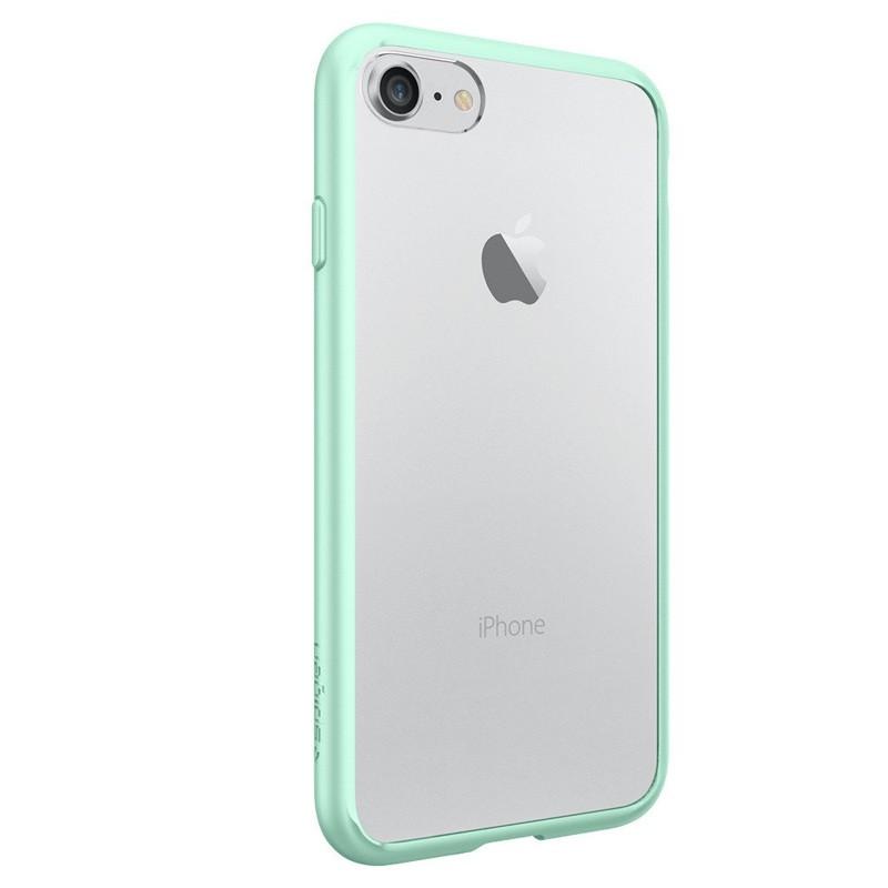 Spigen Ultra Hybrid iPhone 7 Mint Green/Clear - 6