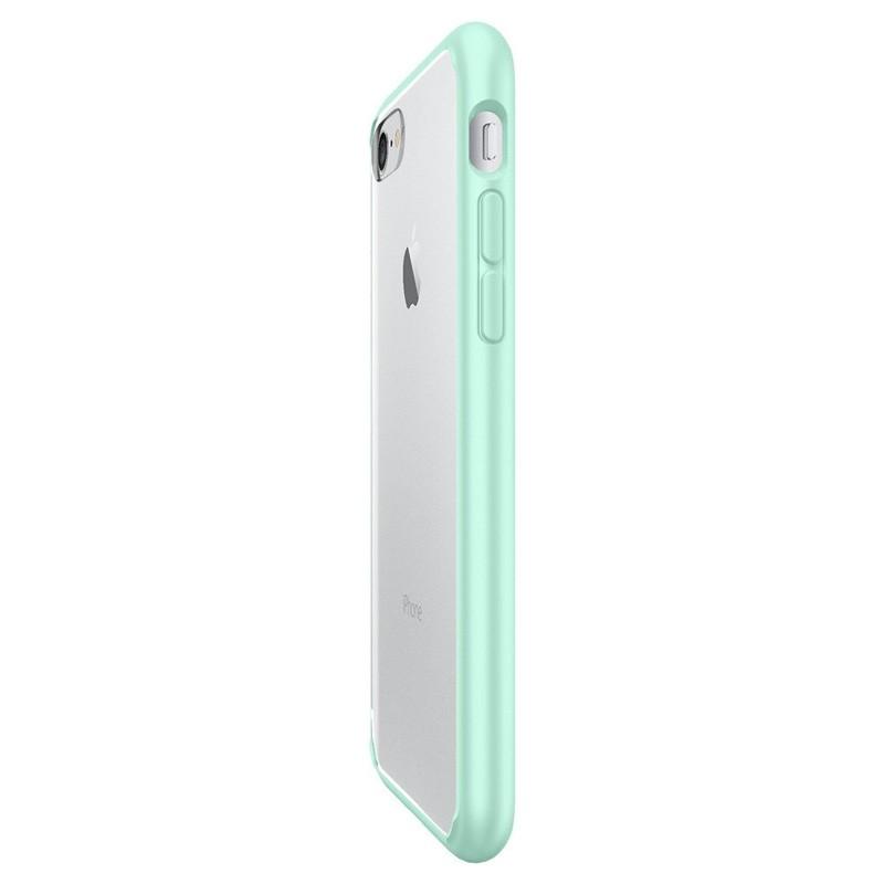 Spigen Ultra Hybrid iPhone 7 Mint Green/Clear - 4