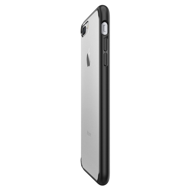 Spigen Ultra Hybrid iPhone 7 Plus Black/Clear - 4