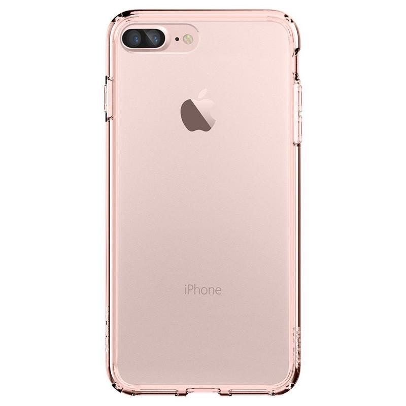 Spigen Ultra Hybrid iPhone 7 Plus Rose Gold/Clear - 2