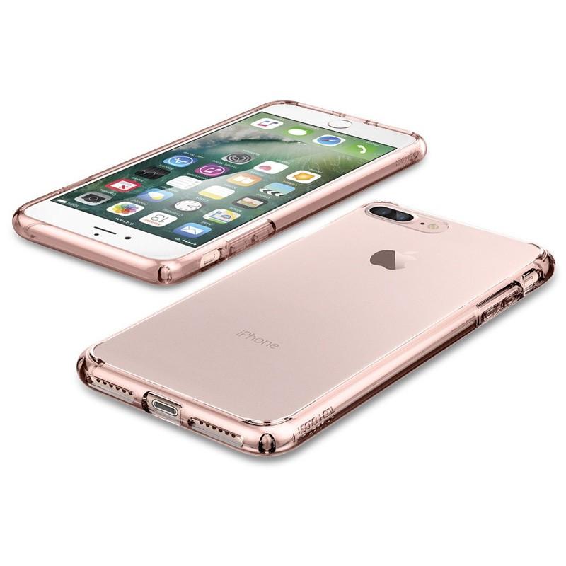 Spigen Ultra Hybrid iPhone 7 Plus Rose Gold/Clear - 3