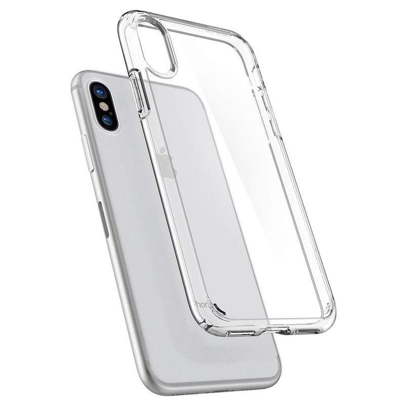 Spigen - Ultra Hybrid iPhone X/Xs Hoesje Clear 02