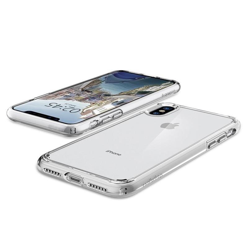 Spigen - Ultra Hybrid iPhone X/Xs Hoesje Clear 03