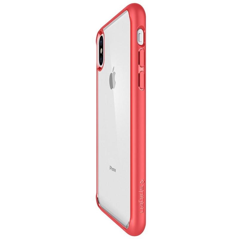 Spigen - Ultra Hybrid iPhone 8 Hoesje Red 06
