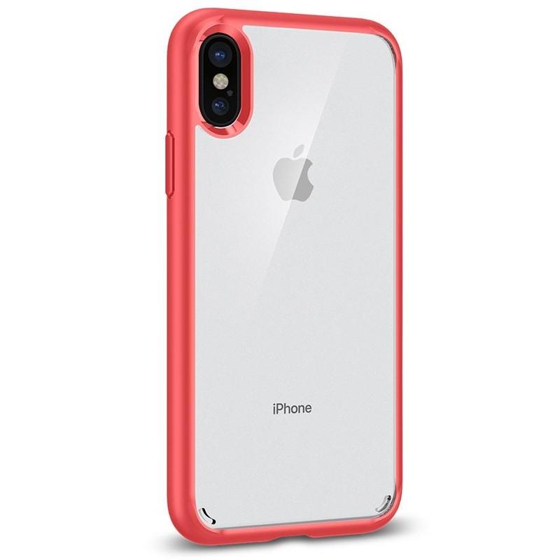 Spigen - Ultra Hybrid iPhone 8 Hoesje Red 08