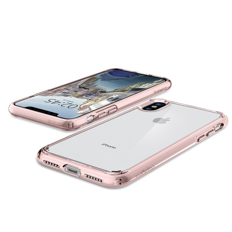 Spigen - Ultra Hybrid iPhone 8 Hoesje Rose Gold 03