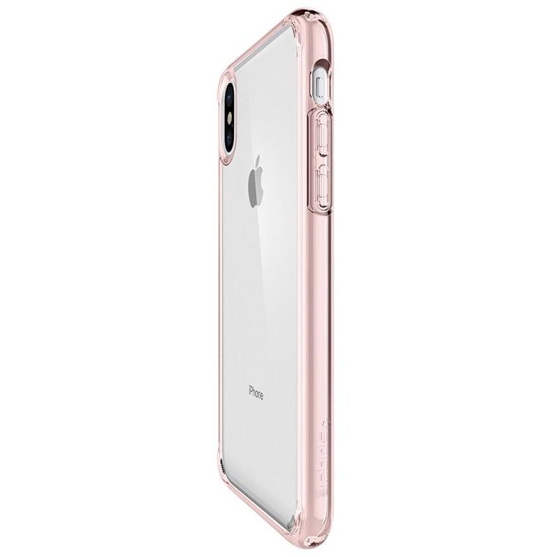 Spigen - Ultra Hybrid iPhone 8 Hoesje Rose Gold 06