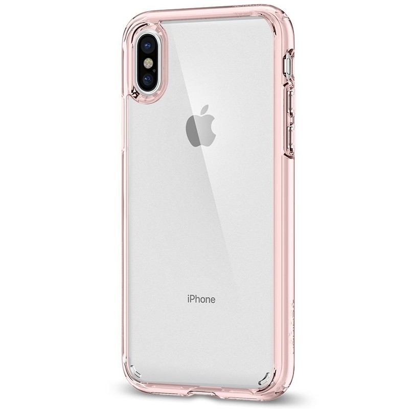 Spigen - Ultra Hybrid iPhone 8 Hoesje Rose Gold 05