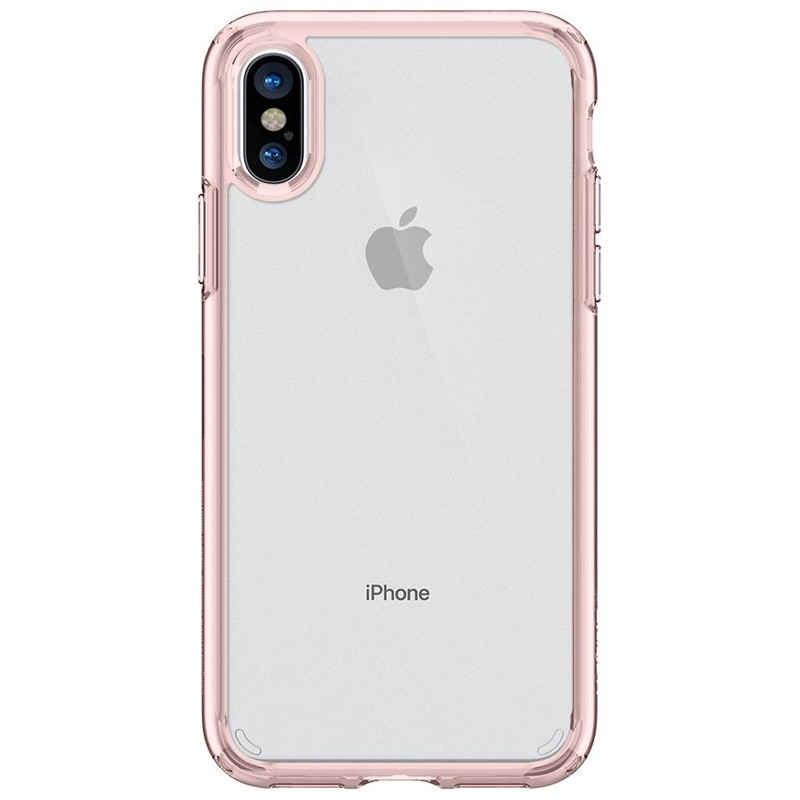 Spigen - Ultra Hybrid iPhone 8 Hoesje Rose Gold 04