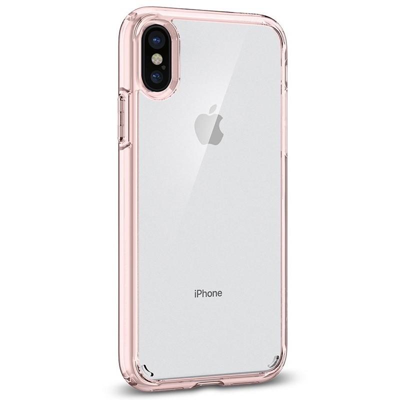Spigen - Ultra Hybrid iPhone 8 Hoesje Rose Gold 08