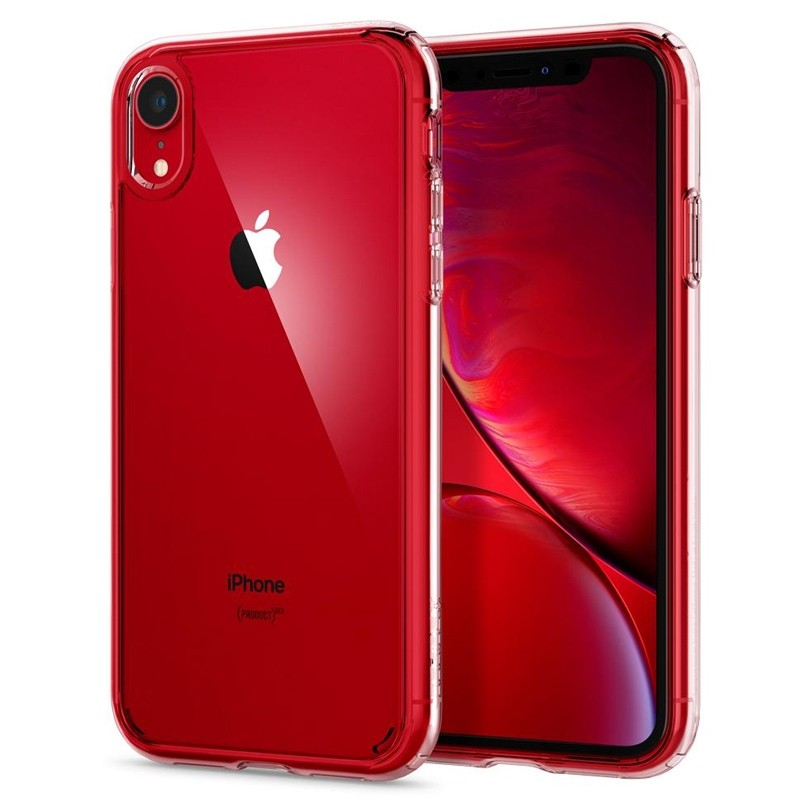 Spigen - Ultra Hybrid iPhone XR Hoes Transparant 06
