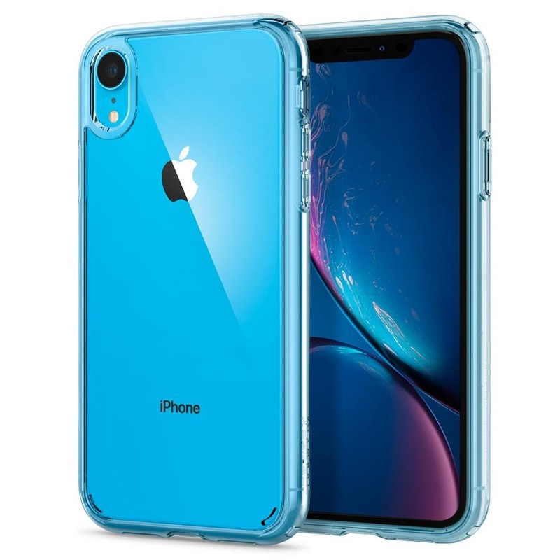 Spigen - Ultra Hybrid iPhone XR Hoes Transparant 10