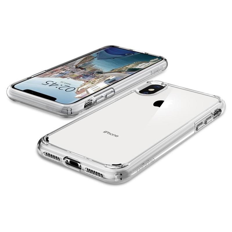 Spigen Ultra Hybrid iPhone XS Max Hoesje transparant 05