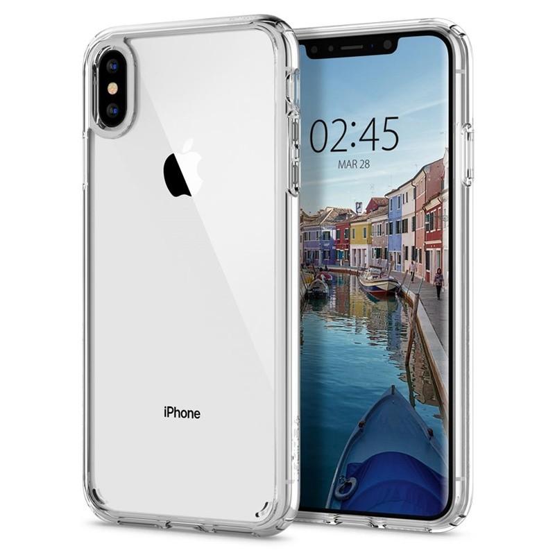 Spigen Ultra Hybrid iPhone XS Max Hoesje transparant 07