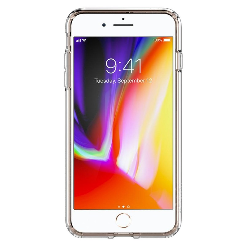 Spigen Ultra Hybrid S Case iPhone 8 Plus/7 Plus Transparant - 4