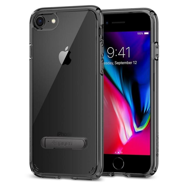 Spigen Ultra Hybrid S Case Phone 8/7 Zwart - 1