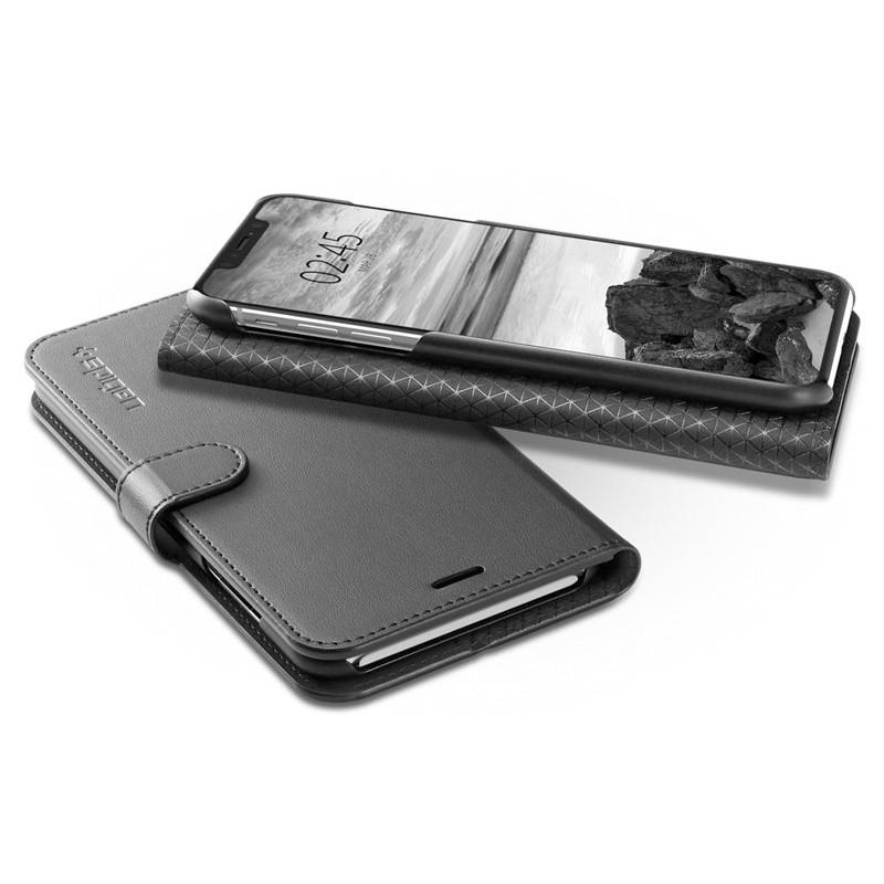 Spigen Ultra Hybrid S iPhone XS Max Hoesje Zwart 06