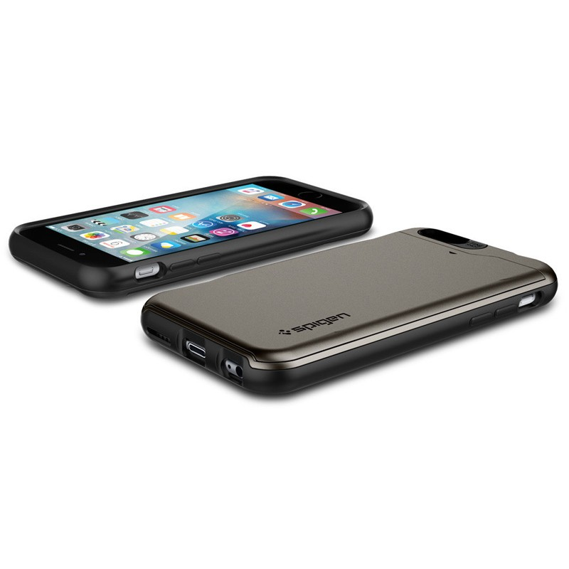 Spigen Slim Armor CS iPhone 6/6S Gunmetal - 6