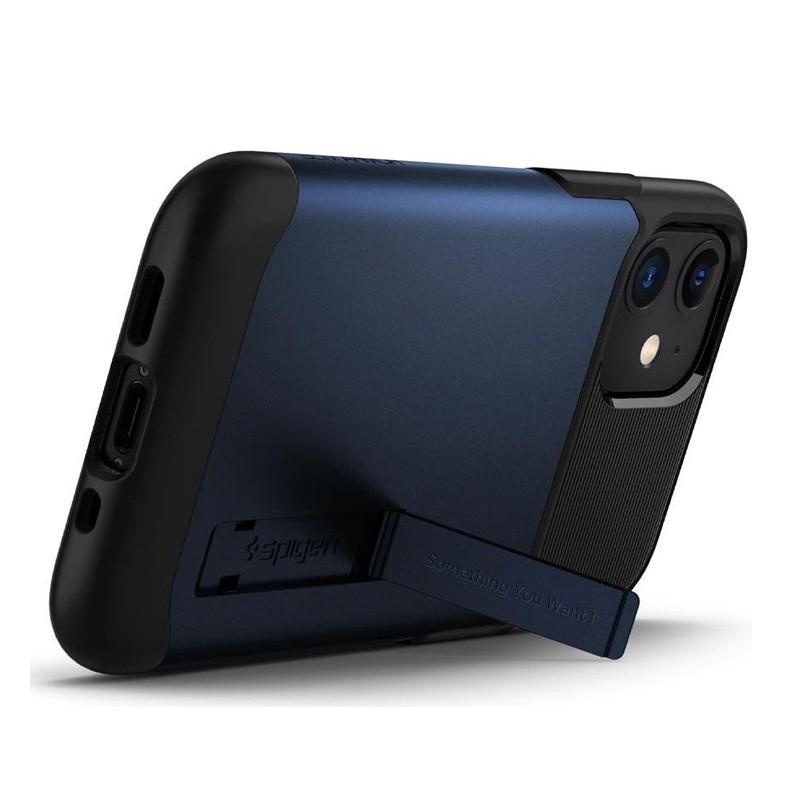 Spigen Slim Armor iPhone 12 Mini 5.4 inch Blauw 03