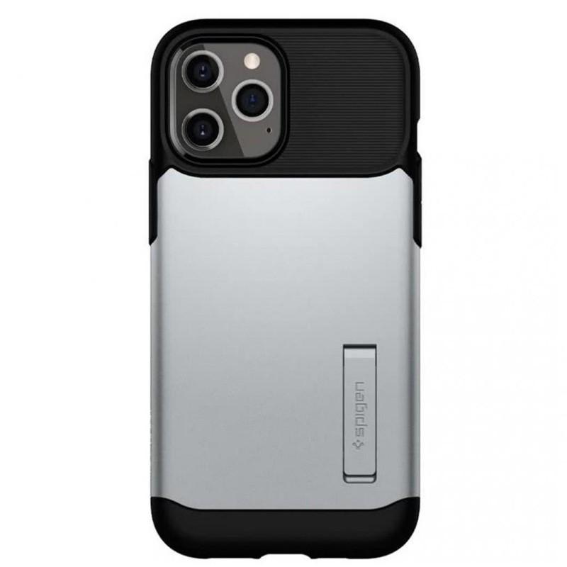 Spigen Slim Armor iPhone 12 Mini 5.4 inch Zilver 02