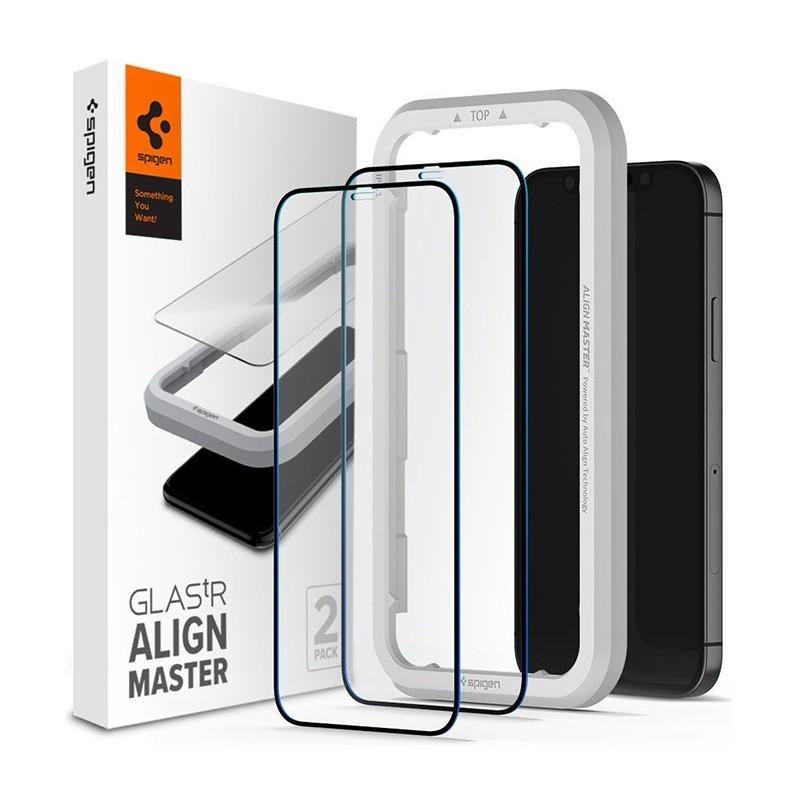 Spigen Glass tR HD iPhone 12 / 12 Pro 2 Pack 01