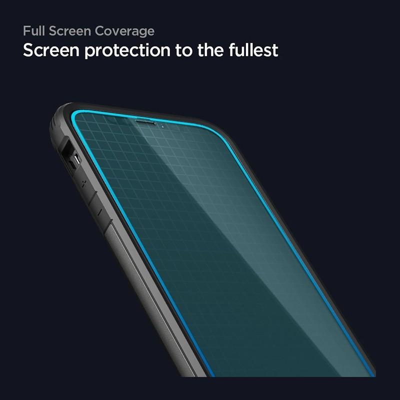 Spigen Glass tR HD iPhone 12 / 12 Pro 2 Pack 03