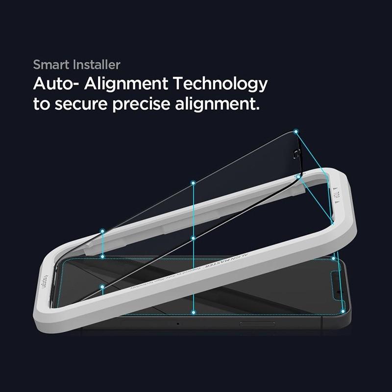 Spigen Glass tR HD iPhone 12 / 12 Pro 2 Pack 02