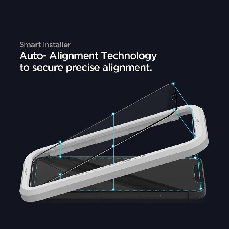Spigen Glass tR HD iPhone 12 Pro Max 2 Pack 03