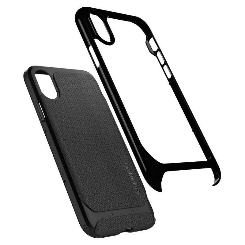 Spigen Neo Hybrid iPhone X/Xs Jet Black - 2