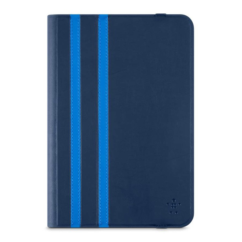 Belkin Twin Stripe Folio iPad mini (2019), iPad mini 4 Blue - 1