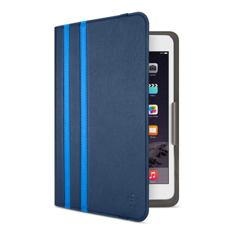Belkin Twin Stripe Folio iPad mini (2019), iPad mini 4 Blue - 4